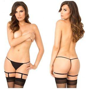 2/$10 💕 Simple Sexy Black Garters